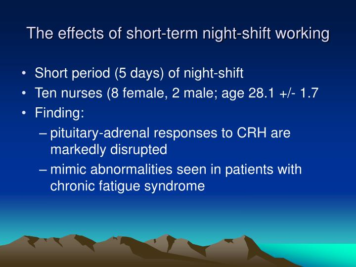 an analysis of the negative effects of shiftwork on workers National center for intermodal transportation & economic development shiftwork & health shift work can have potentially negative effects on psychosocial rhythms.