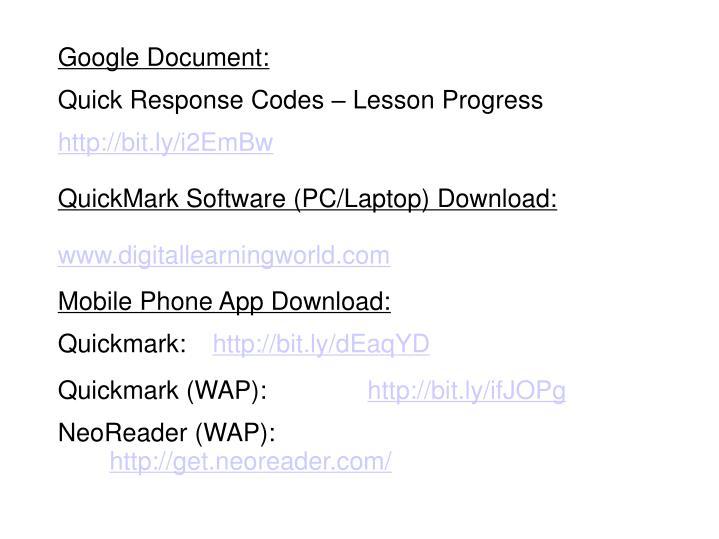 Google Document: