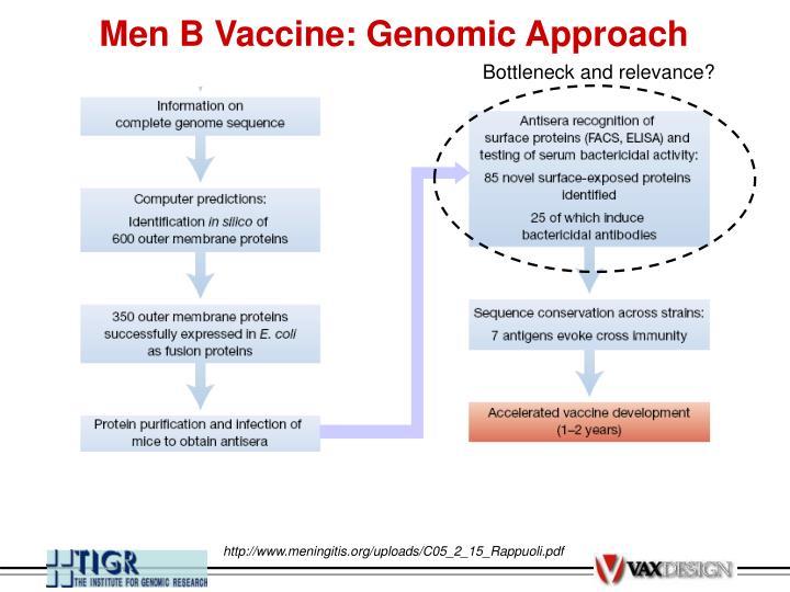 Men B Vaccine: Genomic Approach