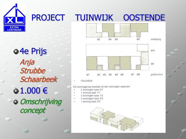Project tuinwijk oostende1