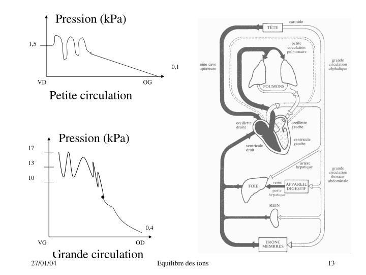 Pression (kPa)