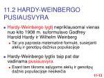 11 2 hardy weinberg o pusiausvyra