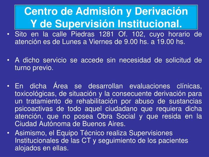 Centro de Admisión y Derivación