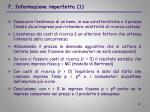 7 informazione imperfetta 1