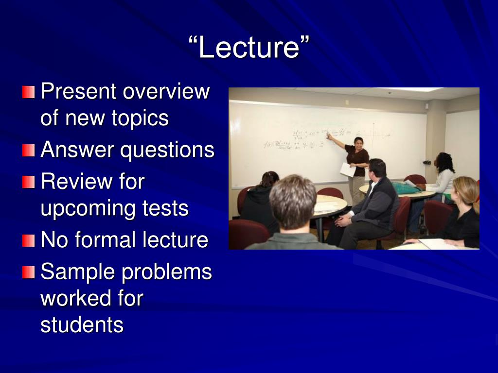 """""""Lecture"""""""