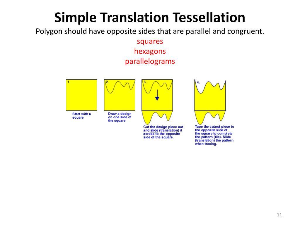 Simple Translation Tessellation