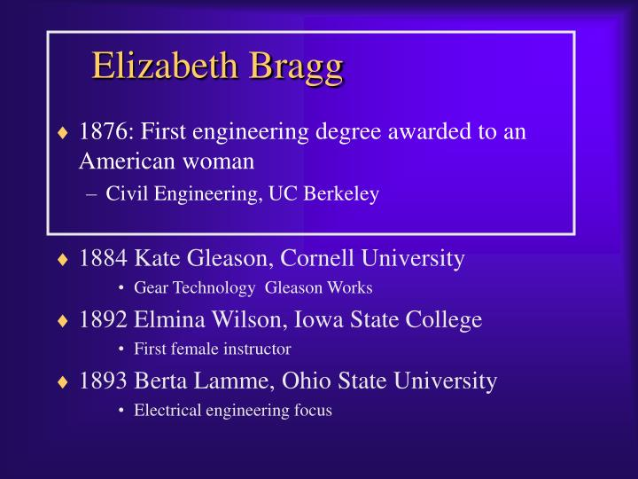 Elizabeth Bragg