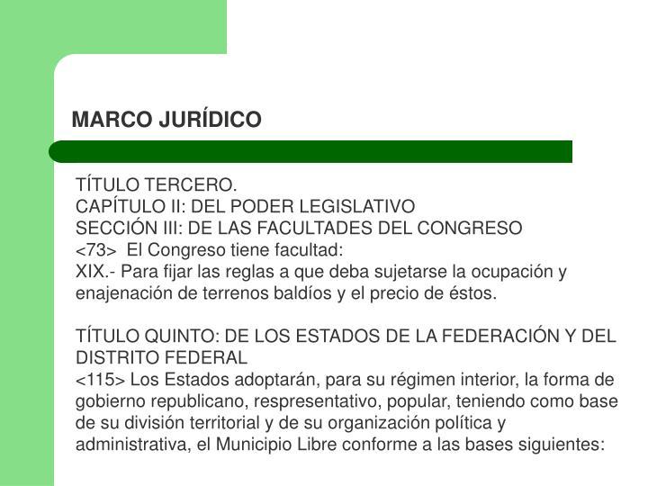 PPT - MARCO JURÍDICO PowerPoint Presentation - ID:929484