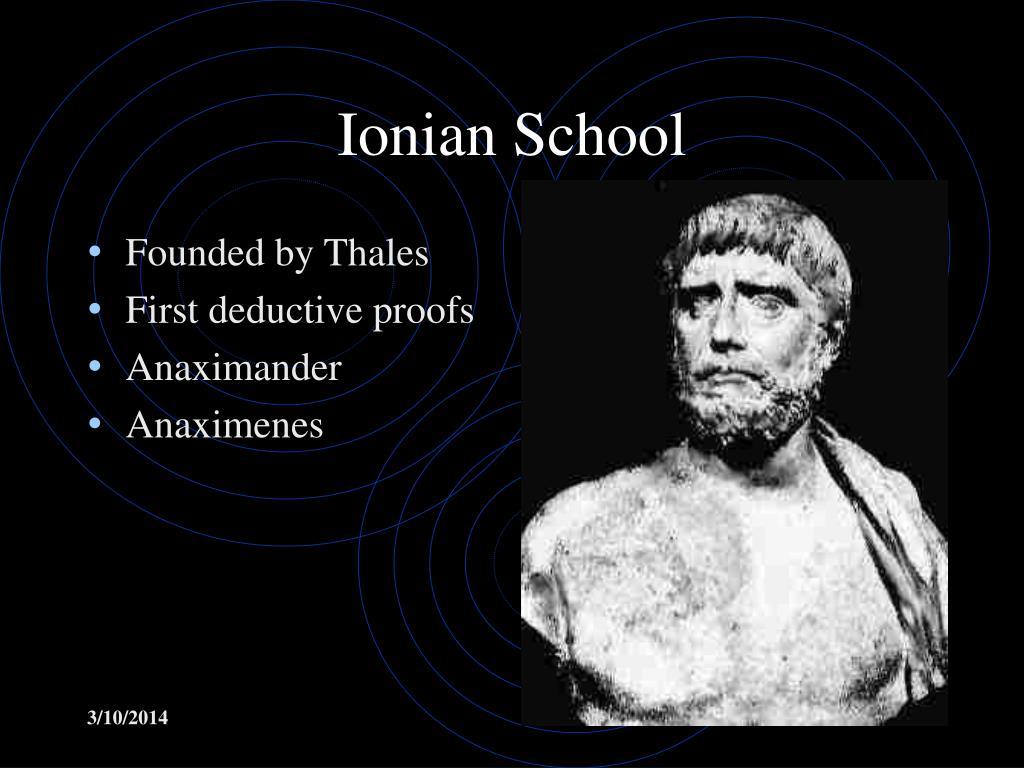 Ionian School