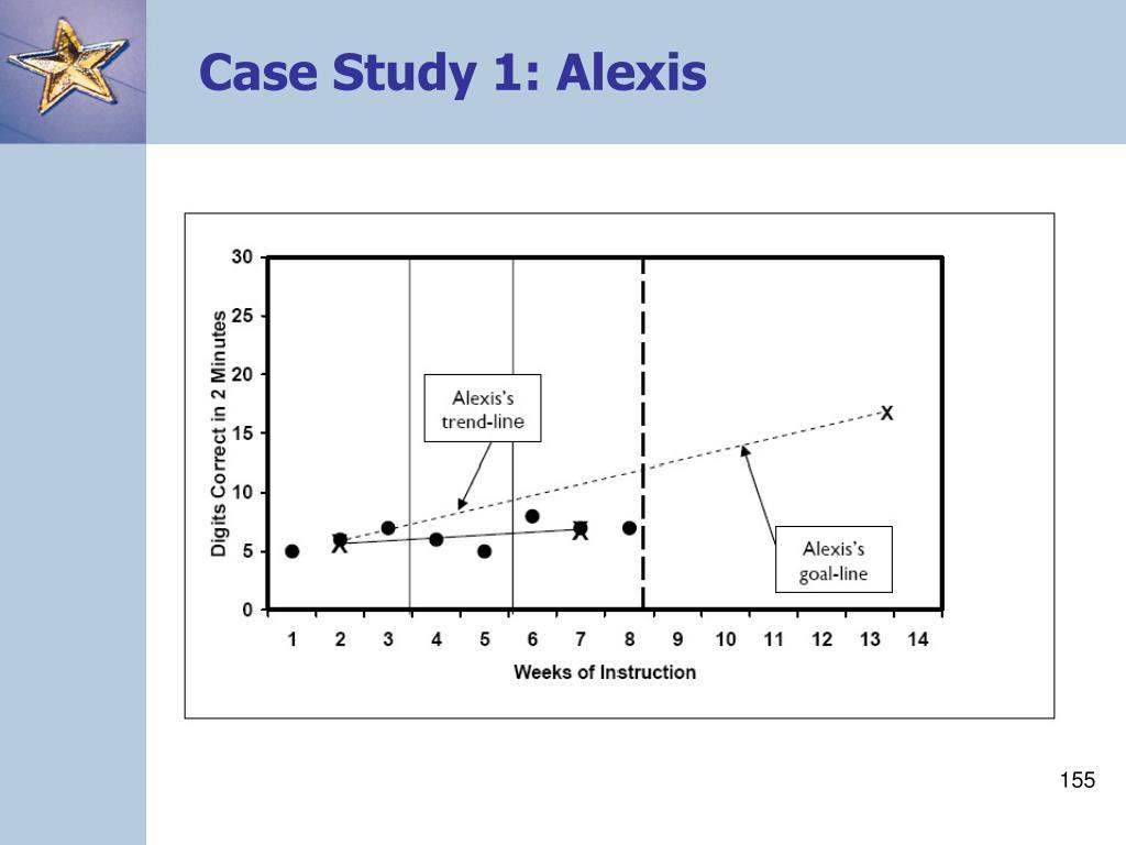 Case Study 1: Alexis