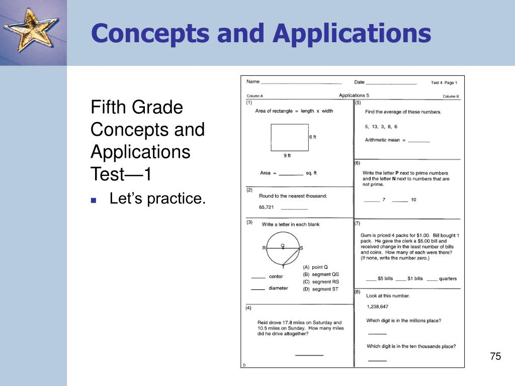 Concepts and Applications