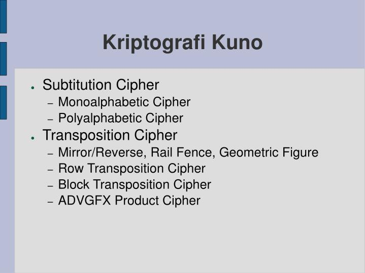 Kriptografi kuno