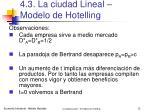 4 3 la ciudad lineal modelo de hotelling10