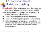 4 3 la ciudad lineal modelo de hotelling27