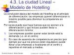 4 3 la ciudad lineal modelo de hotelling34