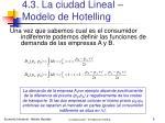 4 3 la ciudad lineal modelo de hotelling6