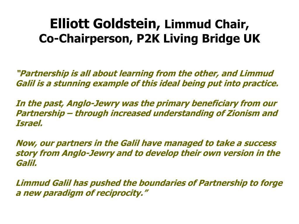 Elliott Goldstein,