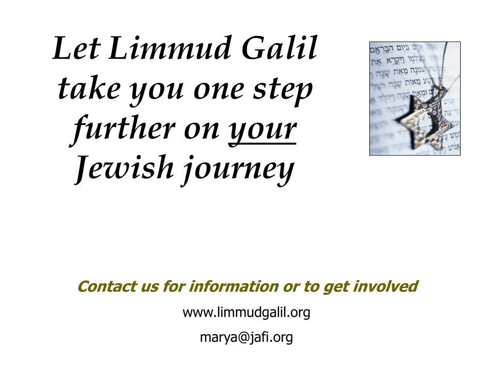 Let Limmud Galil