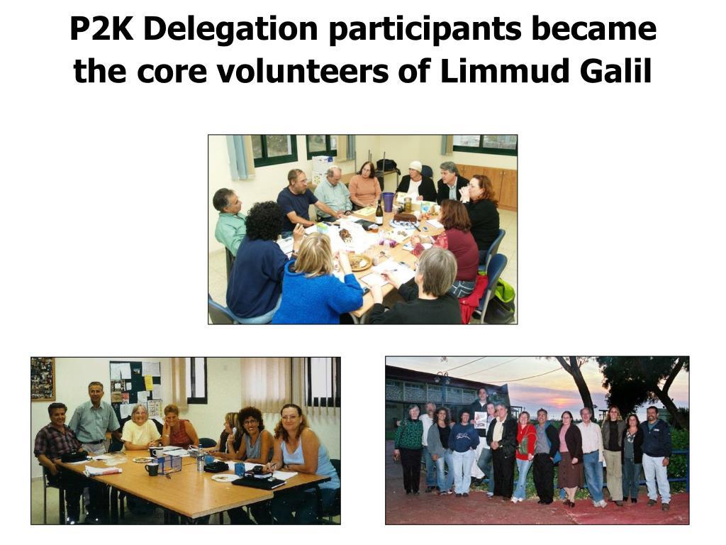 P2K Delegation participants became
