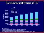 postmenopausal women in us