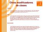 otros modificadores de clases1
