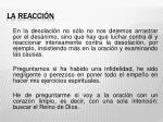 la reacci n1