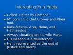 interesting fun facts