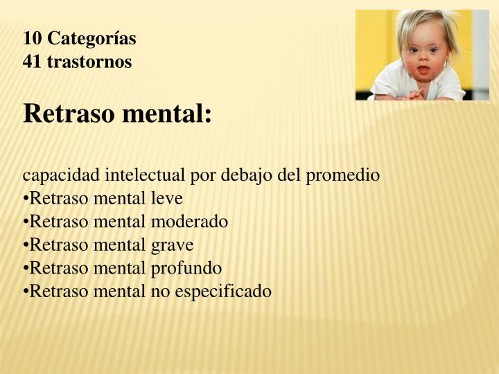 10 Categorías