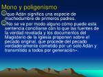 mono y poligenismo1