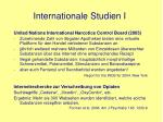 internationale studien i