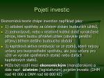 pojet investic1