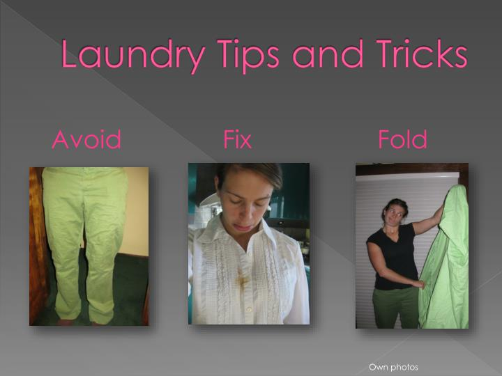 laundry tips and tricks n.