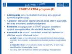 start extra program ii