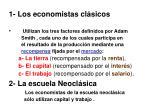 1 los economistas cl sicos