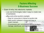 factors affecting e business success3
