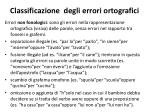 classificazione degli errori ortografici1