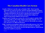 the canadian health care system9