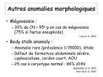 autres anomalies morphologiques2