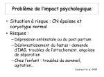 probl me de l impact psychologique