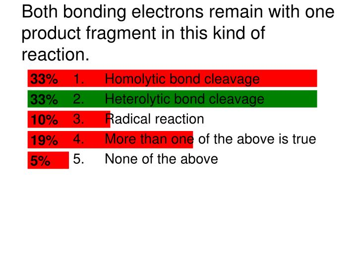 both bonding electrons remain with one product fragment in this kind of reaction n.