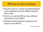 rpn has no clear meaning