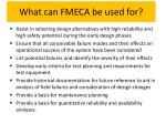 what can fmeca be used for