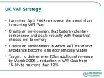uk vat strategy