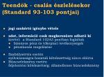 teend k csal s szlel sekor standard 93 103 pontjai1