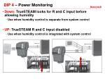 dip 4 power monitoring