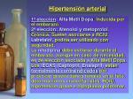 hipertensi n arterial