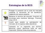 estrategias de la bcg