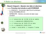 dates en abscisses