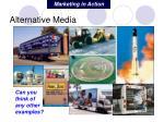 alternative media