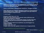 nokia 3650 buzzzblogging